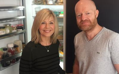 Jake Wood does the In-Sync Chat with Glynis Barber